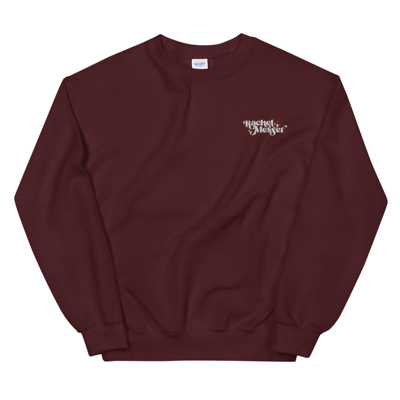 Unisex Embroidered Sweatshirt