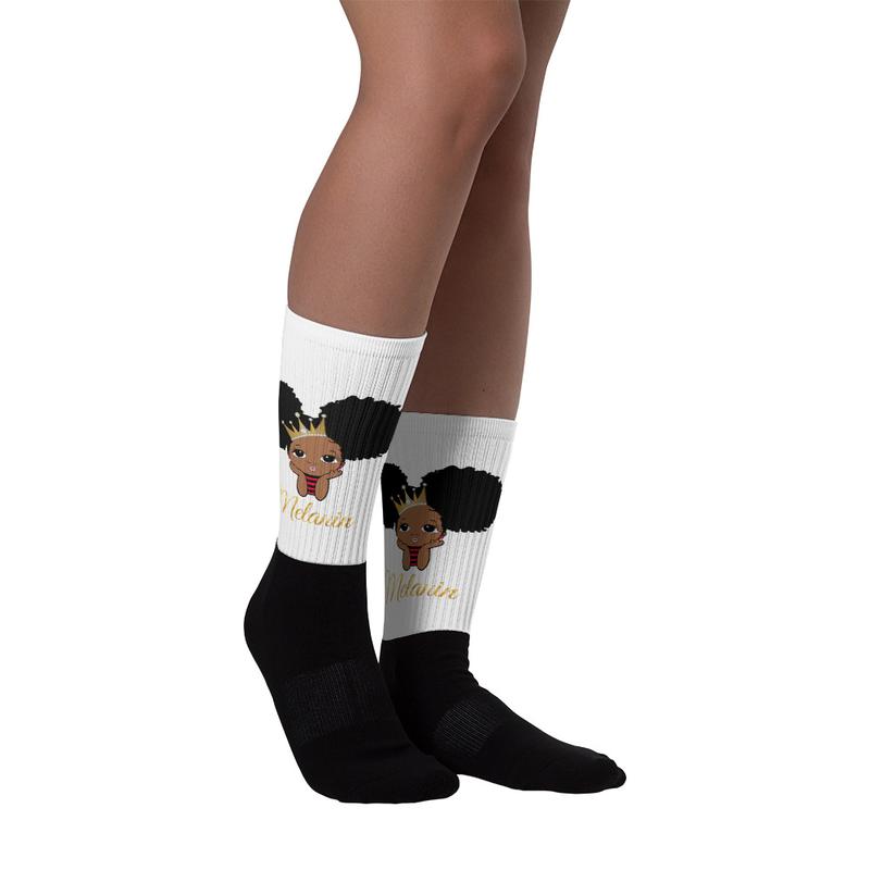 Princess Melanin Socks