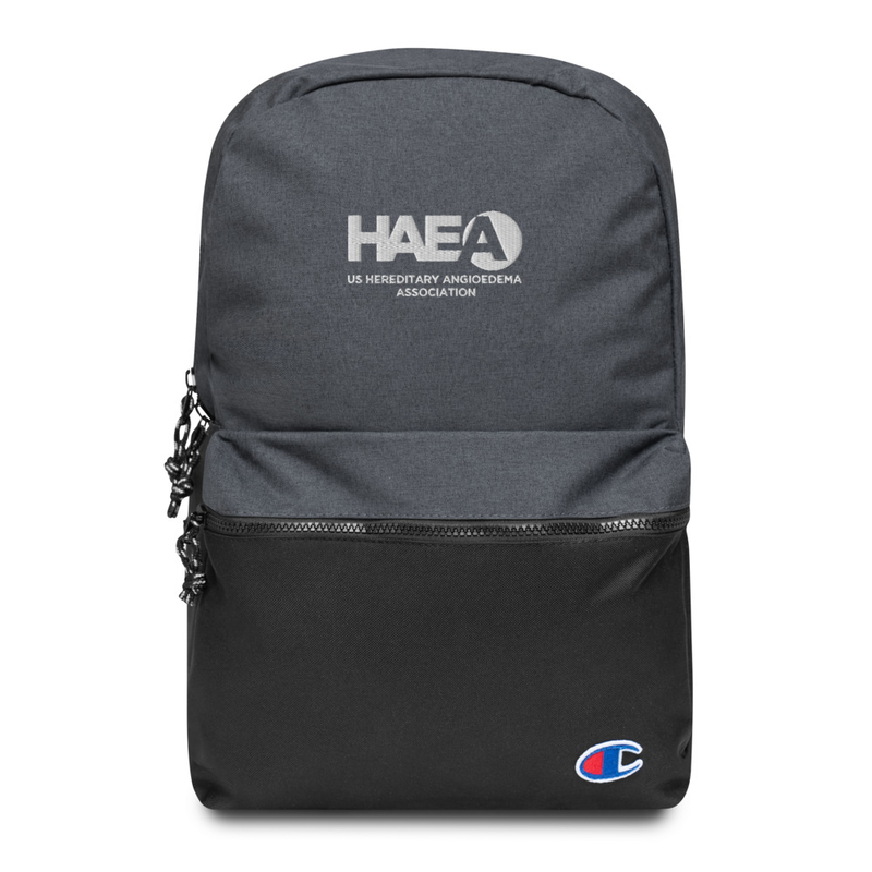 Accessory - HAEA Champion Embroidered Backpack