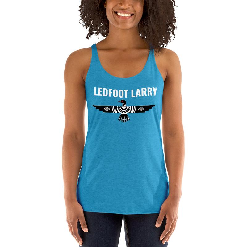 Ledfoot Larry Thunderloon | Women's Racerback Tank