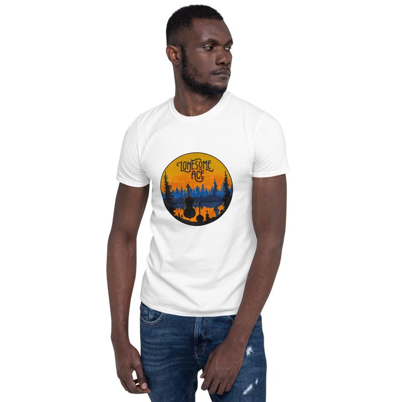 Short-Sleeve Unisex T-Shirt Lonesome Lake