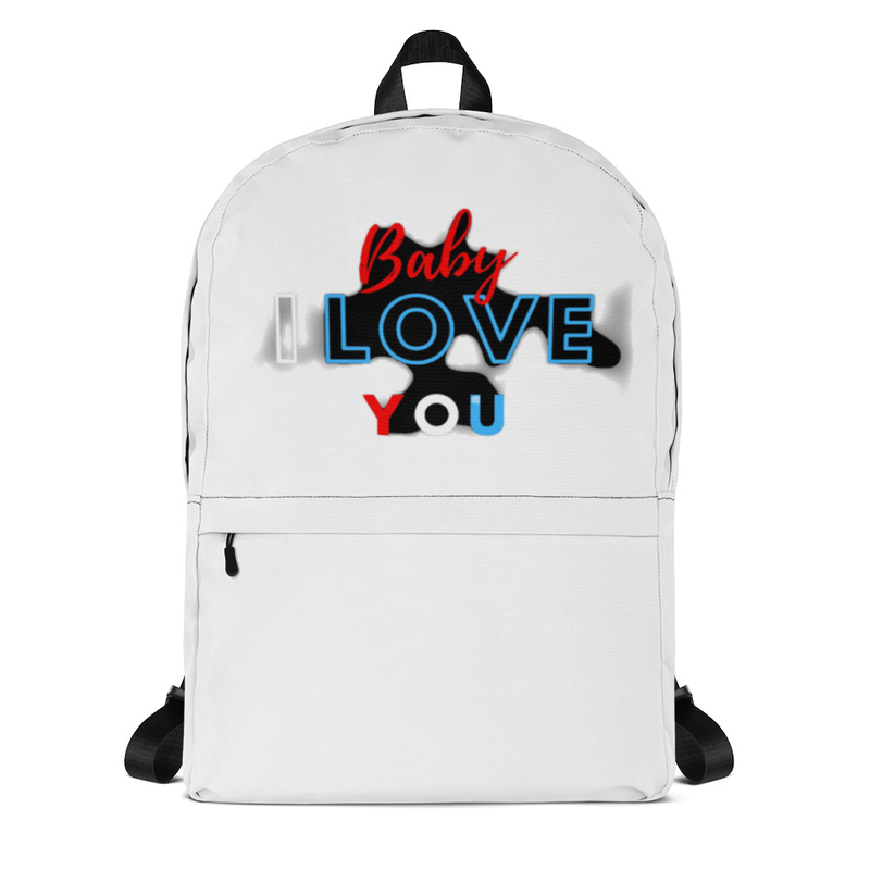 baby i love you Backpack