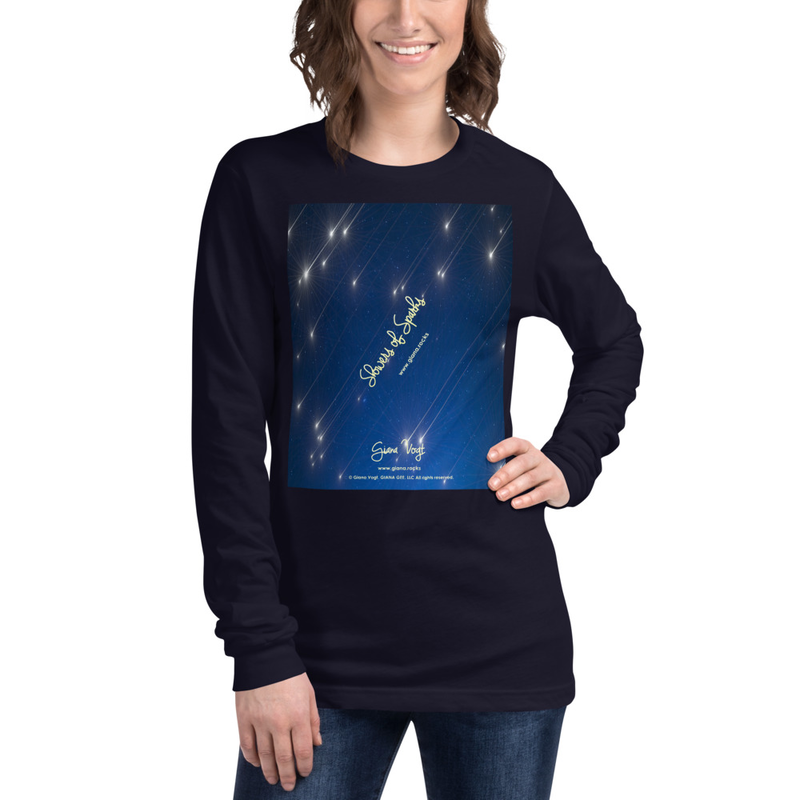 Showers Of Sparks Unisex Long Sleeve Tee