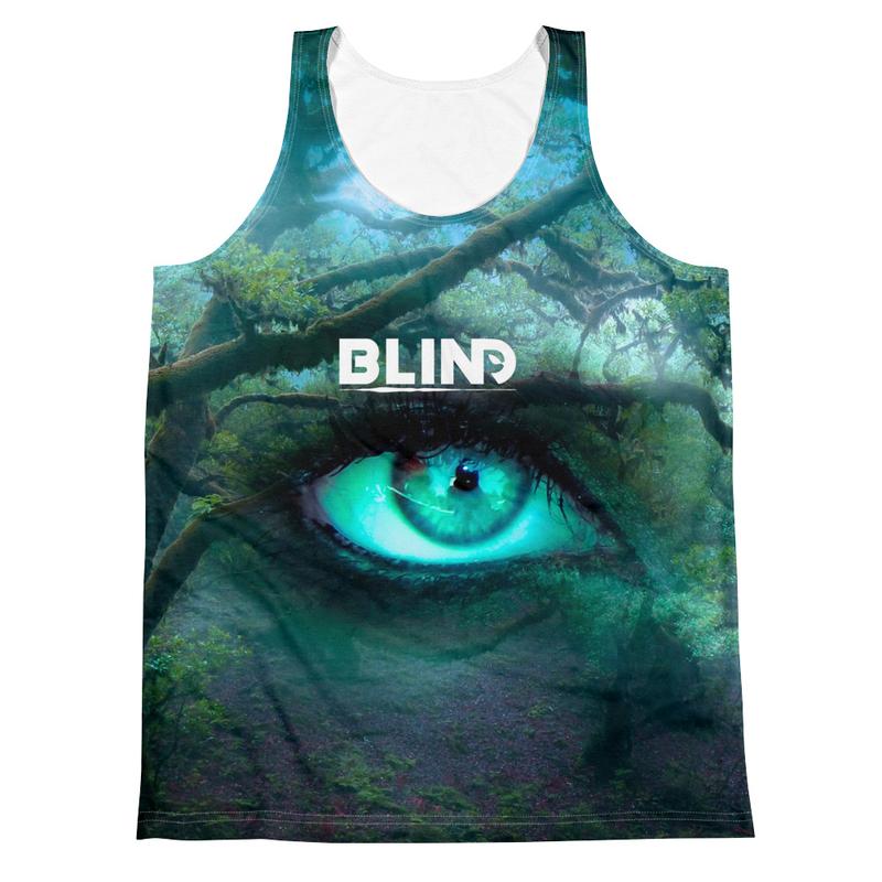 Unisex bLiNd Tank Top (Psyris Artwork)