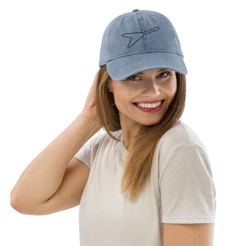 Flying V Revolvers Denim Hat