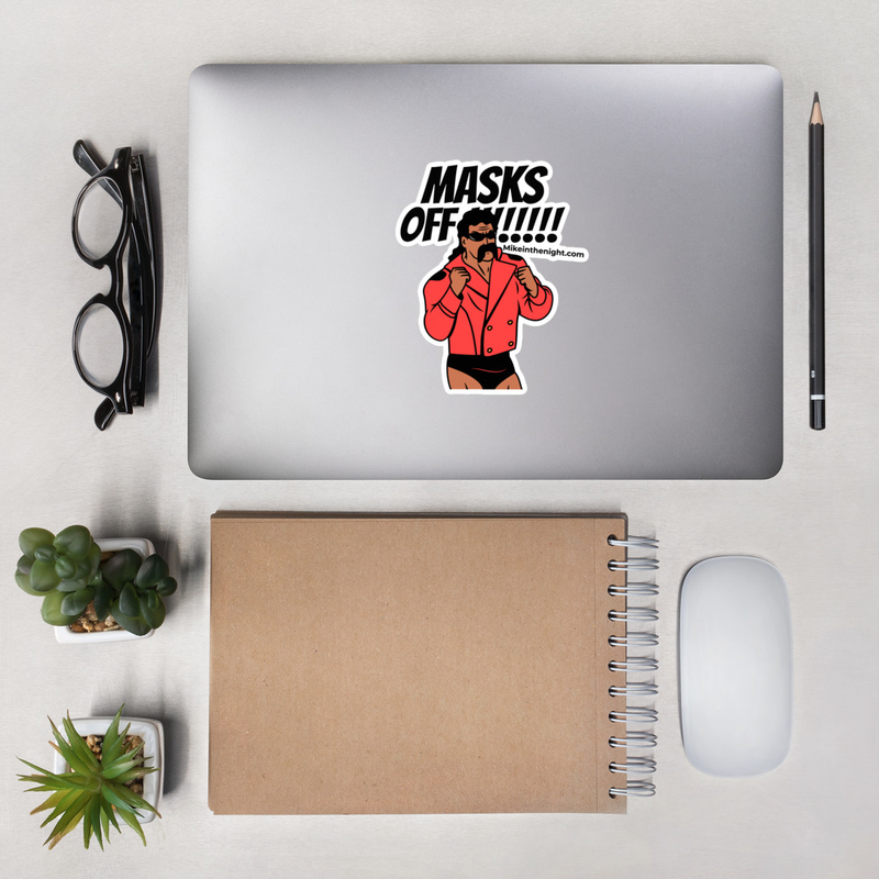 Mike Masks Off - Bubble-free stickers (stick it on your car, or elsewhere)