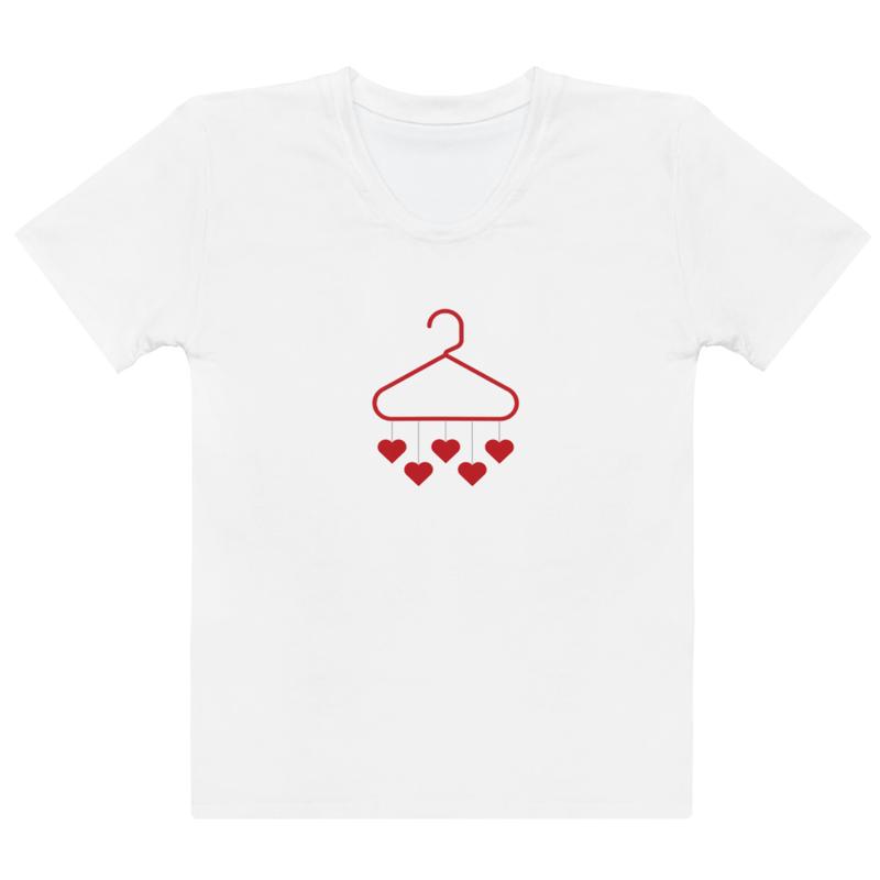 Women's T-shirt - Hearts hangerz