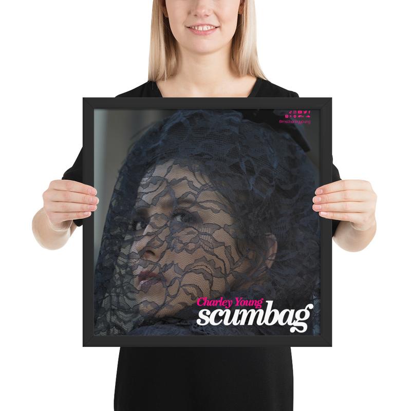 Scumbag Widow Framed Poster