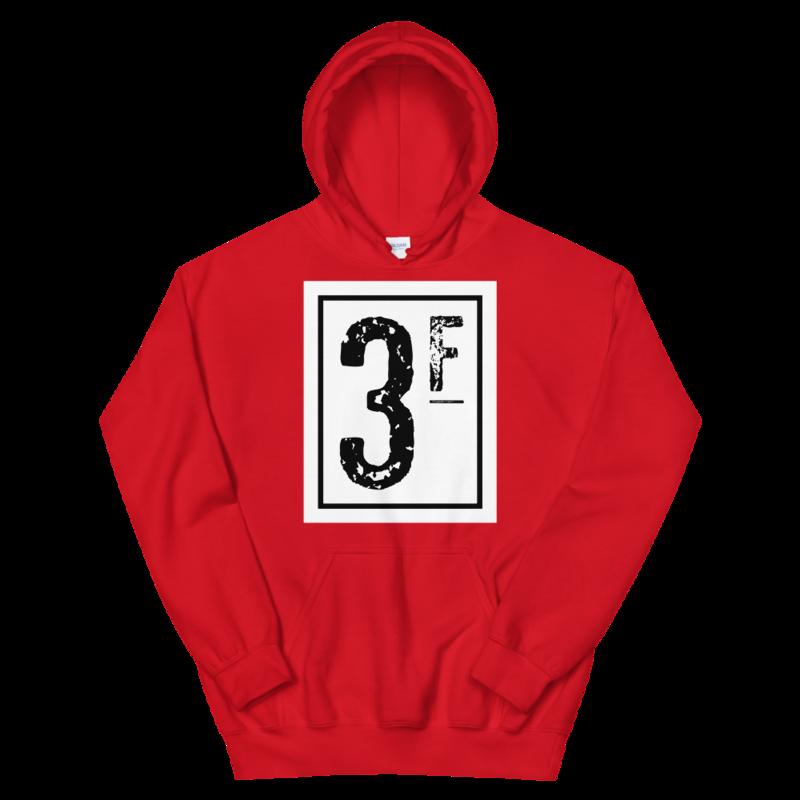 3Faces Hoodie | Solid | Black Logo