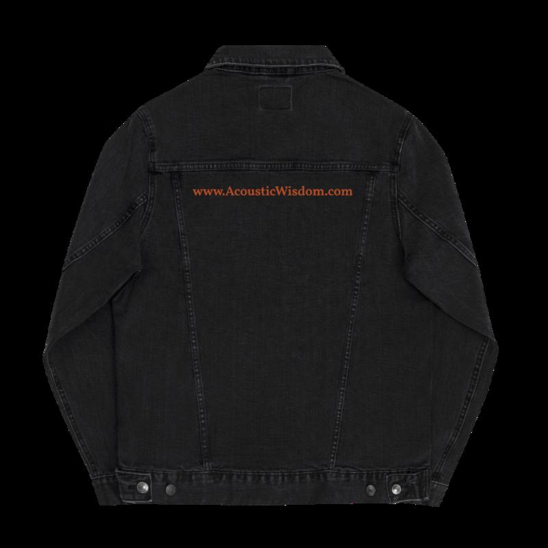 Acoustic Wisdom - Unisex denim jacket