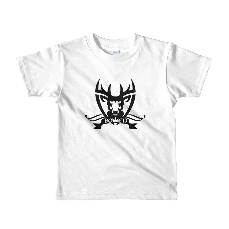 BOWEN Stag Logo Short Sleeve Kids T-shirt