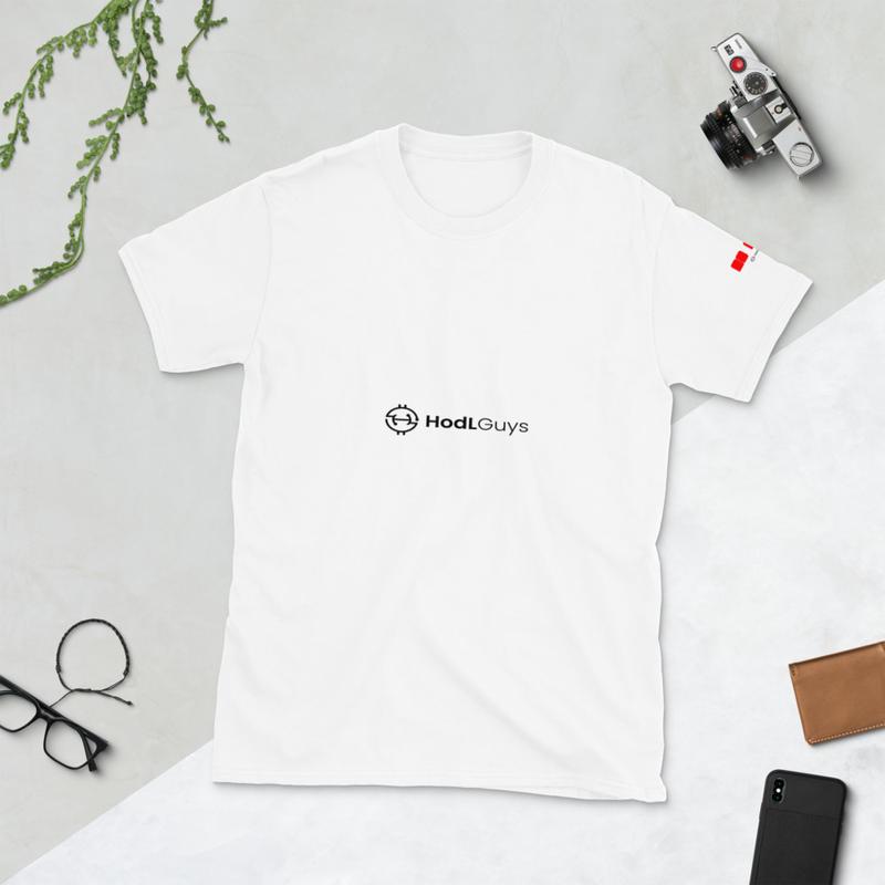 HodLGuys No FUD Short-Sleeve Unisex T-Shirt
