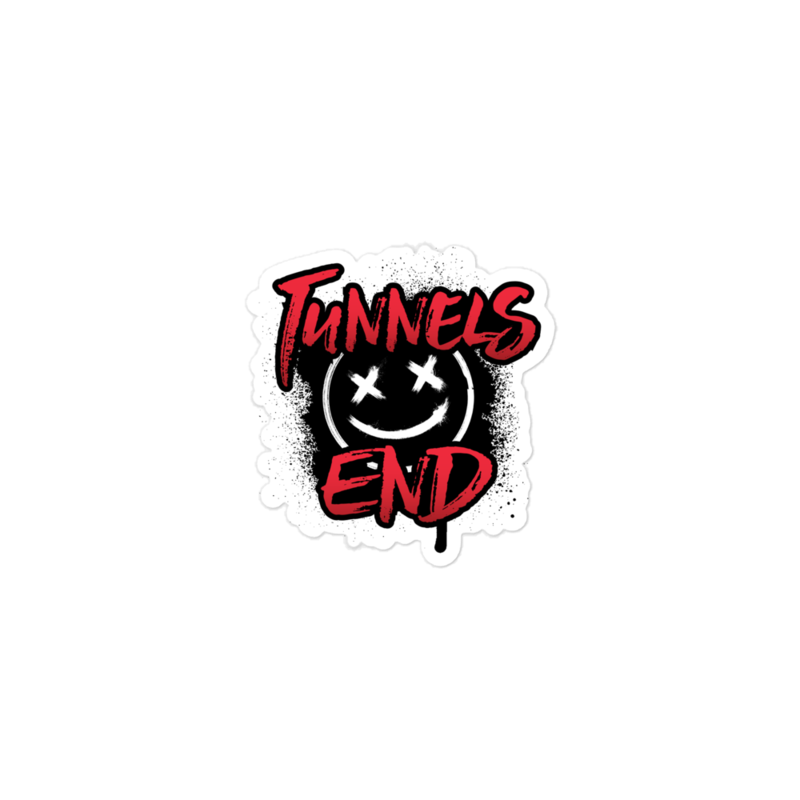 Tunnels End Bubble-free stickers
