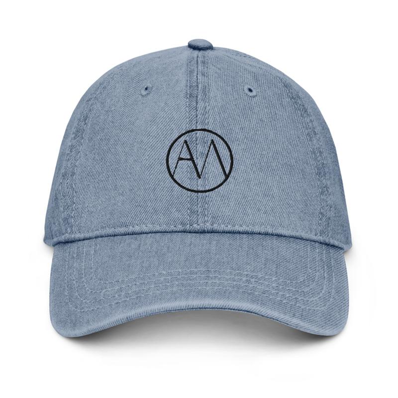 AMO Hat in Blue Denim