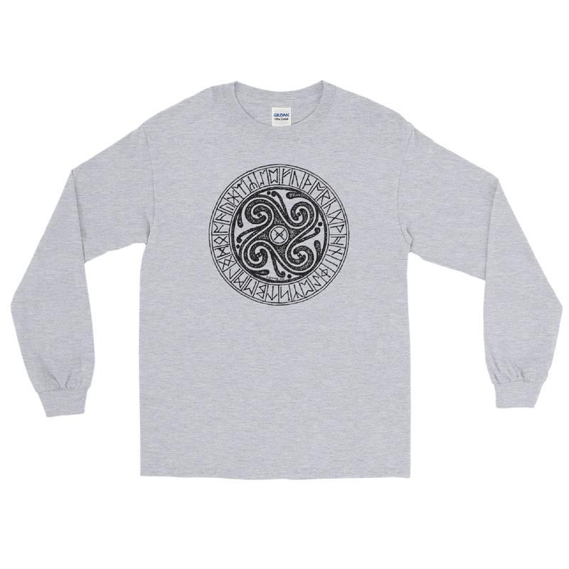 Runes Men's Long Sleeve Shirt