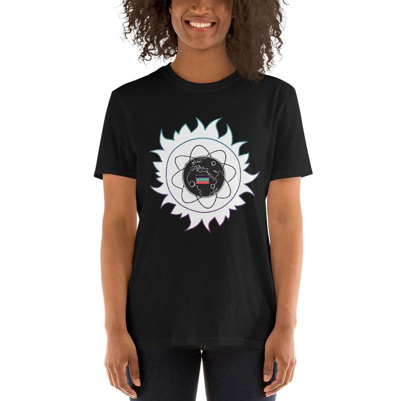 Short-Sleeve Unisex T-Shirt - RGB African Star Child