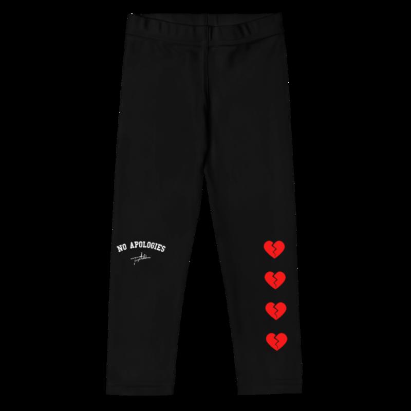 Black Heartbreaker Kid's Leggings