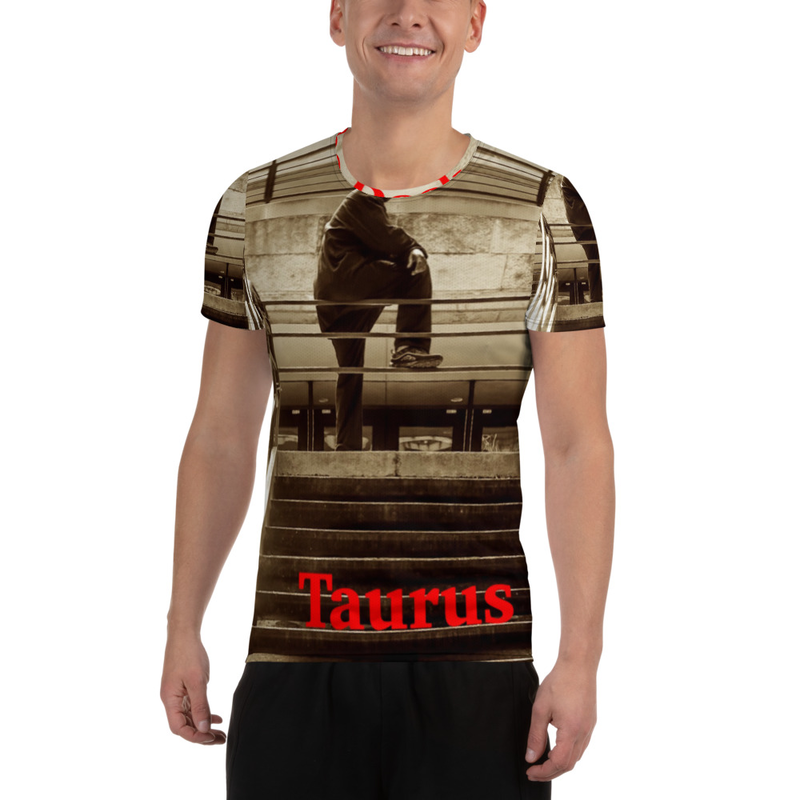 On The Deck All-Over Print Men's Athletic T-shirt