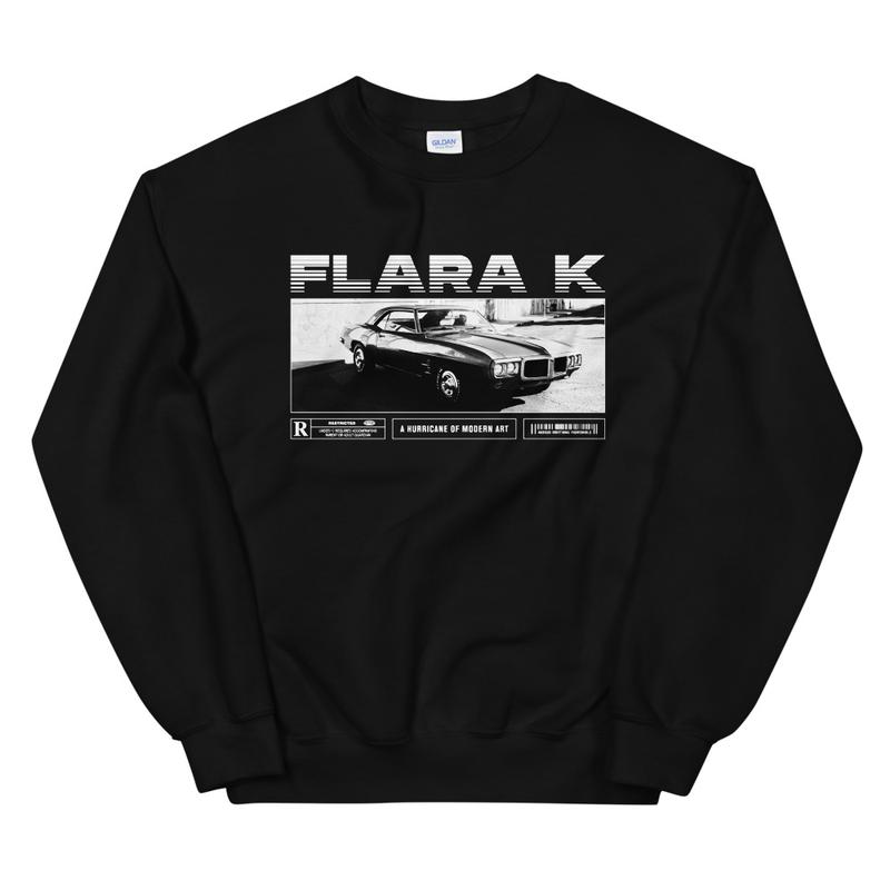 Drive Sweater - Black/White