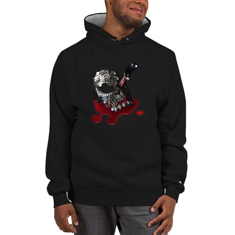 J.Hexx Skull Mask w/ Blade Champion Hoodie