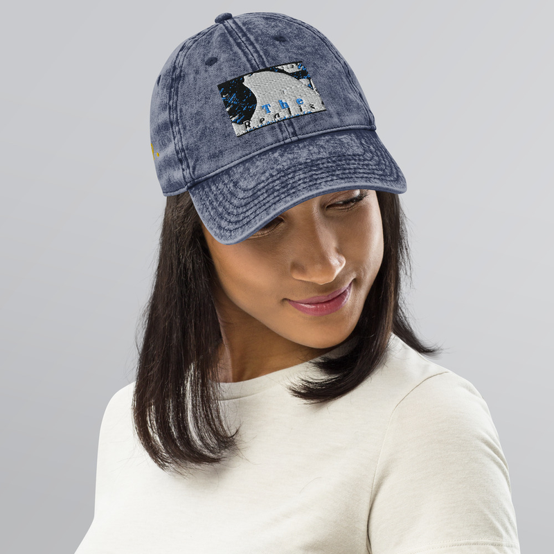 Vintage Cotton Twill Cap - Logo