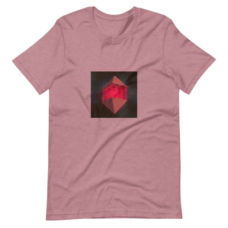 Short-Sleeve Unisex T-Shirt (KW | JR - I Red)