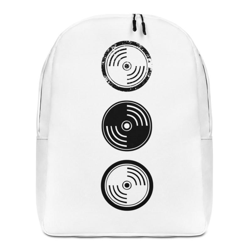Minimalist Backpack - White Vinyl