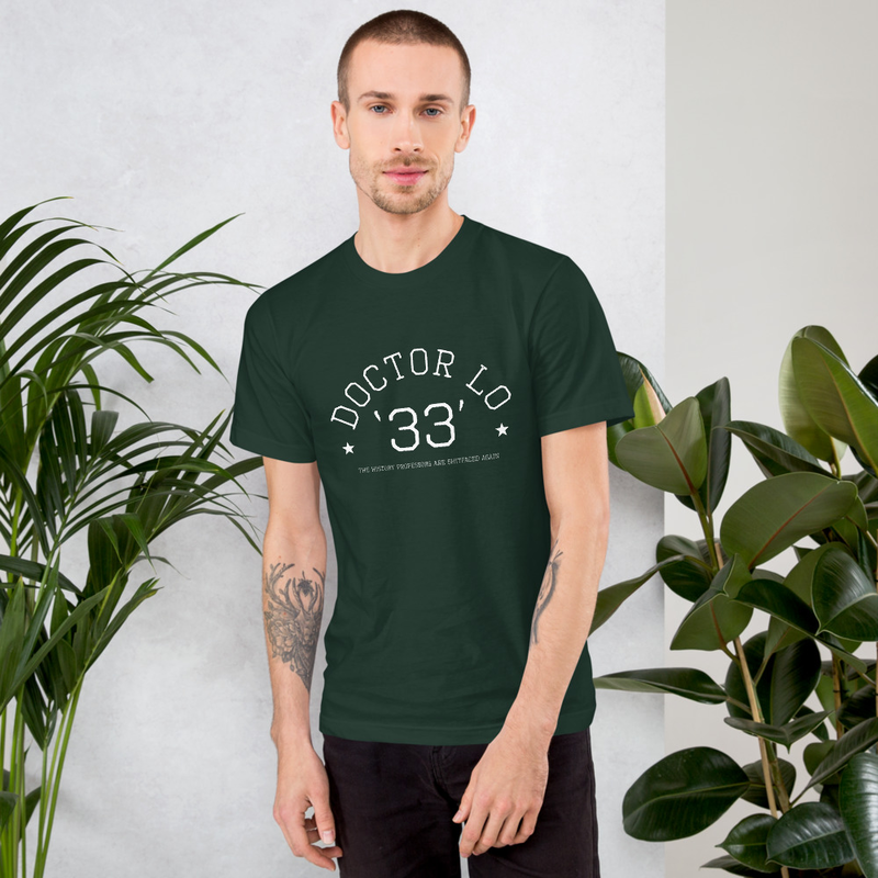 Doctor Lo Collegiate '33' T-Shirt