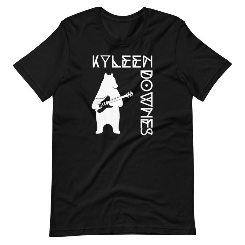Bear playing guitar t-shirt