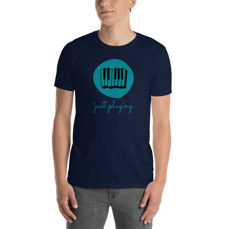 Just Playing Short-Sleeve Unisex T-Shirt