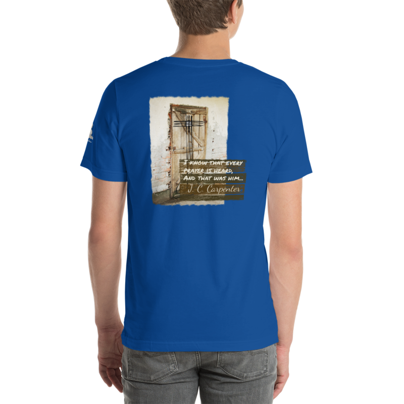 """JC Carpenter"" - TW Lyric Line T-shirt"