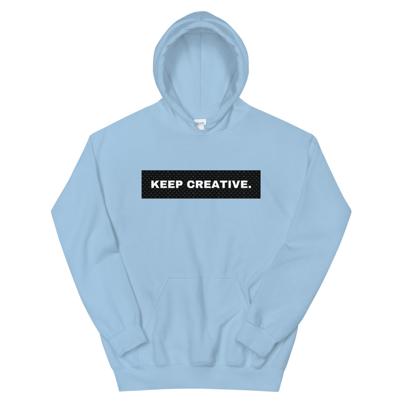 Keep Creative Hoodie (Unisex)
