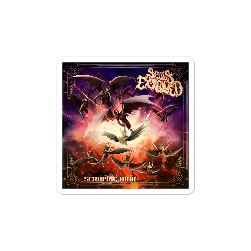 Seraphic War Album Cover Stickers