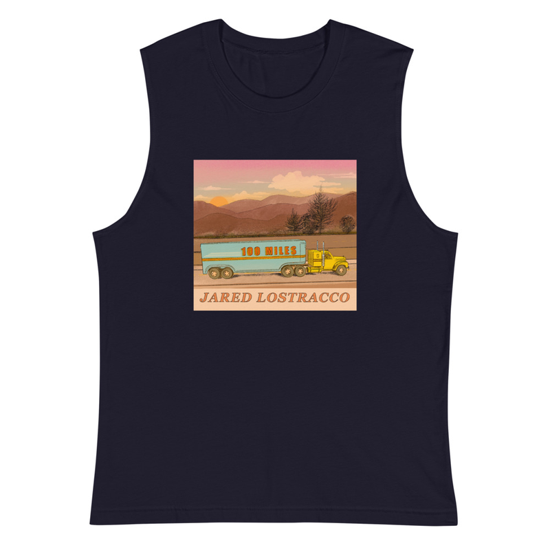 Muscle Shirt 100 Miles