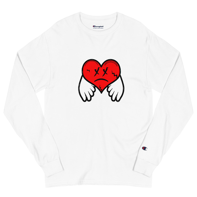 808's & Sarcasm Champion Long Sleeve Shirt