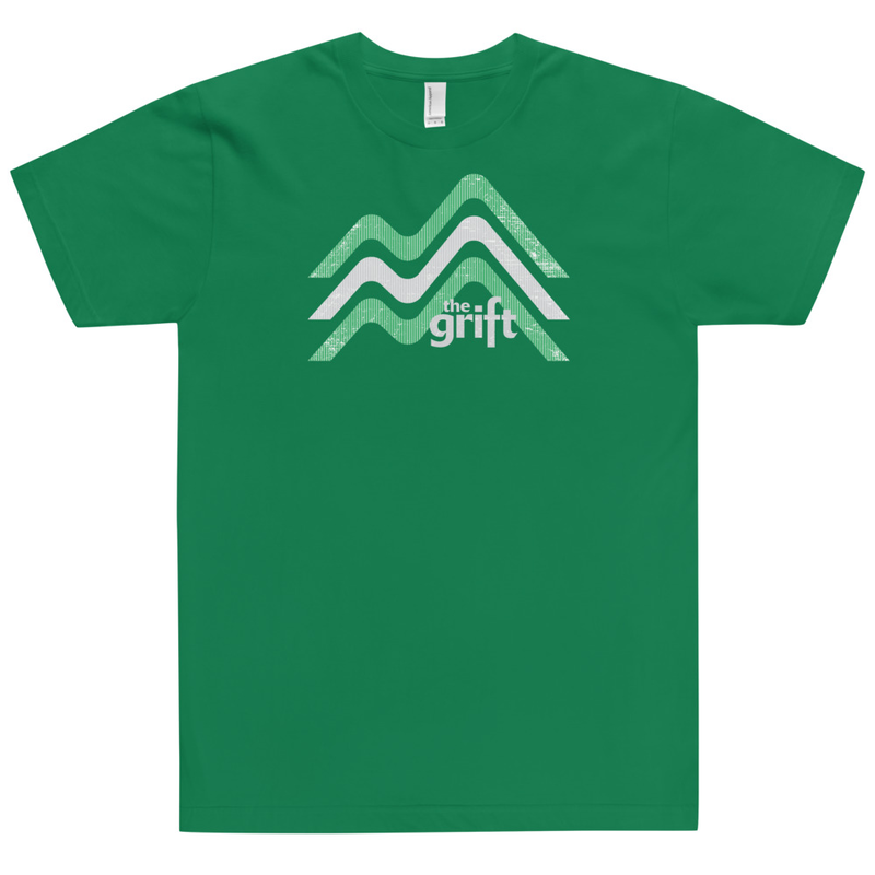Unisex Short Sleeve T-Shirt - Mountain Logo (Made in USA!)