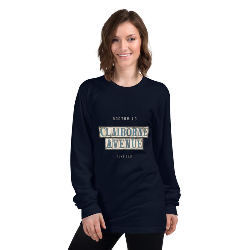 "Doctor Lo ""Claiborne Avenue"" American Apparel Longsleeve Shirt"