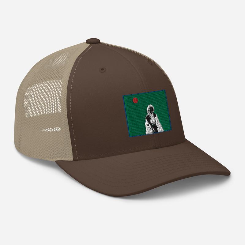 Trucker Cap (Will Phåråoh - sexsax Green Sky)
