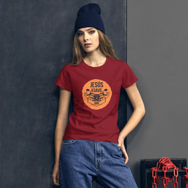 Camiseta de manga corta para mujer