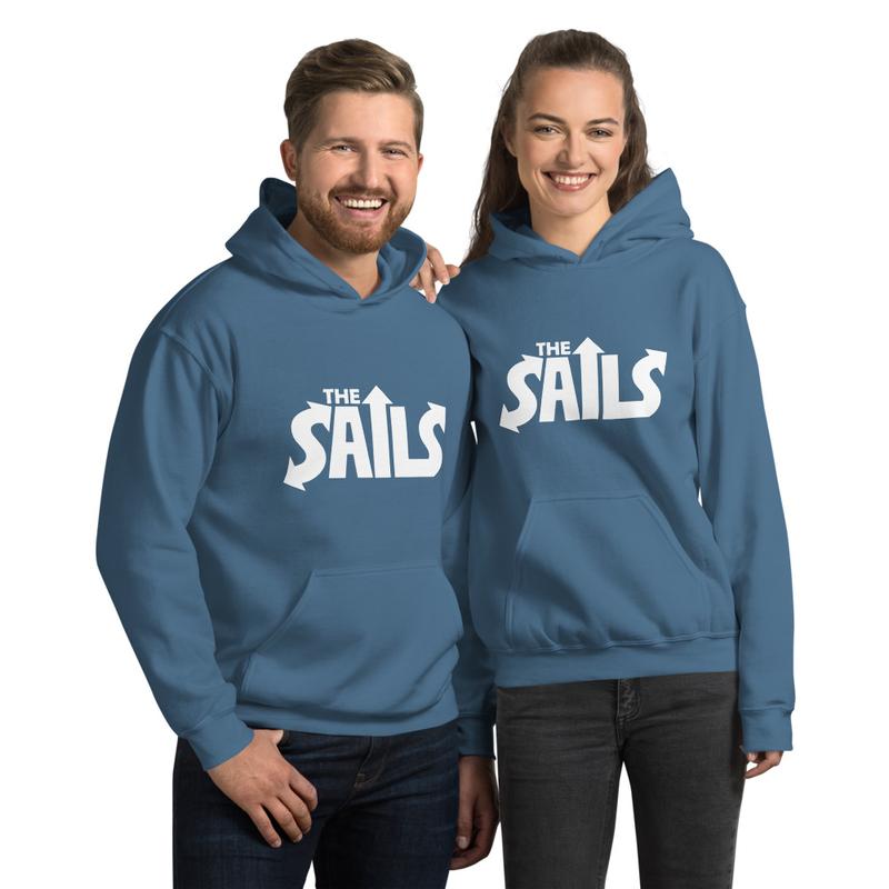 The Sails Unisex Hoodie (Blue)