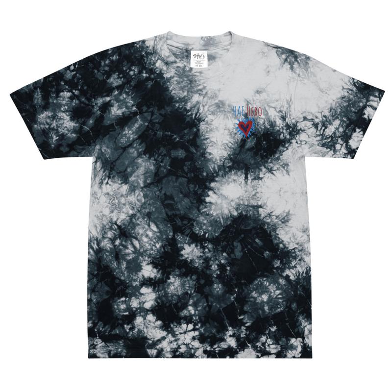 Apparel - HAE Hero Oversized tie-dye t-shirt