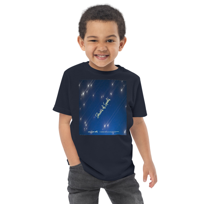 Showers Of Sparks Toddler jersey t-shirt
