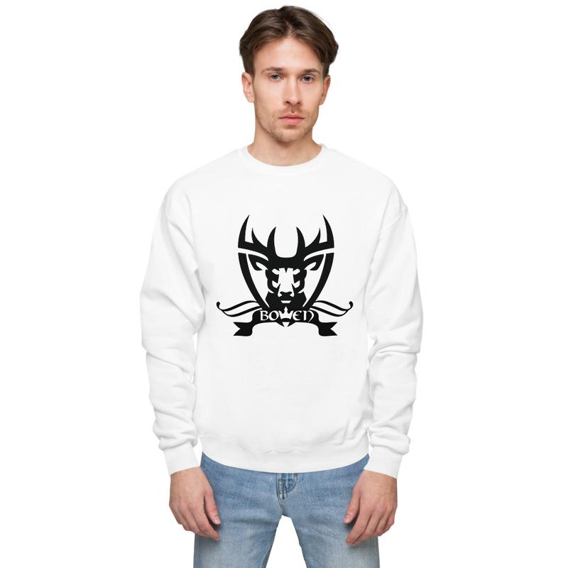 BOWEN Stag Logo Fleece Sweatshirt