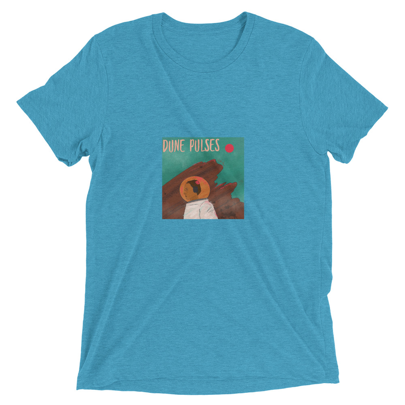 Short sleeve t-shirt (Dune Pulses - Astronaut)