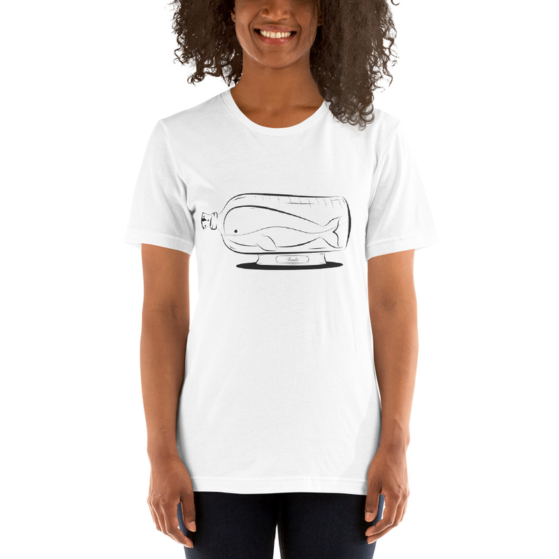 BottledUpWhale - White T-Shirt thumbnail