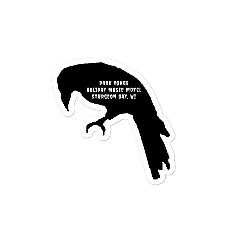 Dark Songs Raven stickers