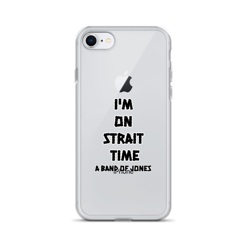"""""""Strait Time"""" Iphone Case"""