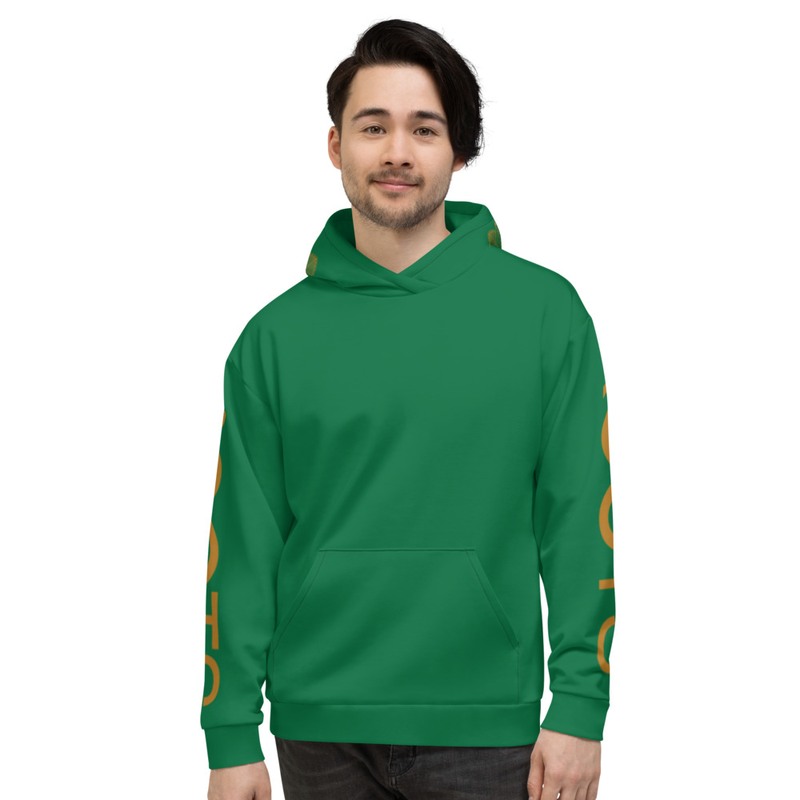 Men's SacGeo Hoodie – Green