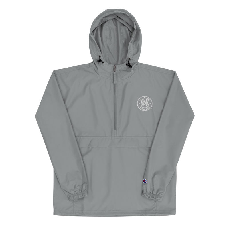 Young Wess Embroidered Champion Packable Jacket