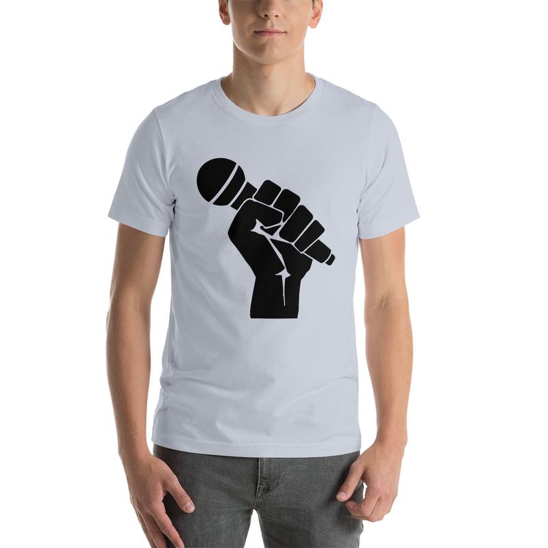 Casanova Microphone Short-Sleeve Unisex T-Shirt